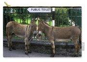 Public Toilet Carry-all Pouch