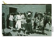 Pueblo Indian Village Carry-all Pouch