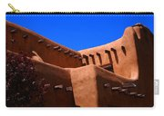 Pueblo Revival Style Architecture In Santa Fe Carry-all Pouch
