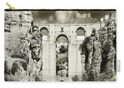Puente Nuevo Tajo De Ronda Andalucia Spain Europe Carry-all Pouch