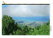 Puerto Plata Mountain View Of The Sea Carry-all Pouch