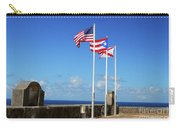 Puerto Rican Flags Carry-all Pouch