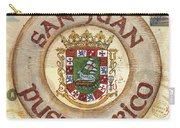 Puerto Rico Coat Of Arms Carry-all Pouch