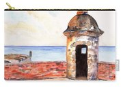 Puerto Rico Sentry Box Ocean View Carry-all Pouch