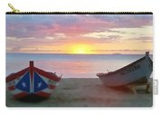 Puerto Rico Sunset On The Beach Carry-all Pouch