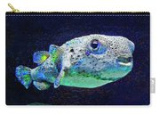 Puffer Fish Carry-all Pouch by Jane Schnetlage