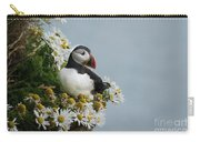 Puffin On Latrabjarg Cliff Carry-all Pouch