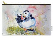 Puffin On Stone Carry-all Pouch