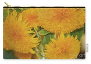 Puffy Golden Delight Carry-all Pouch