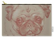 Pug Square Carry-all Pouch