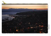Puget Sound Sunset Carry-all Pouch