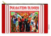 Pulsating Blocks Poster Carry-all Pouch