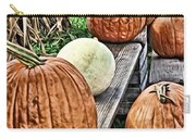 Pumkins In A Row Carry-all Pouch