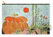 Pumpkin And Asparagus Carry-all Pouch