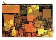 Pumpkin Autumn Cubes Carry-all Pouch