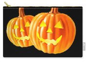 Pumpkin Double  Carry-all Pouch