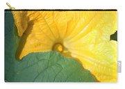Pumpkin Flower Carry-all Pouch