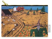 Pumpkin Patch Scarecrow Carry-all Pouch