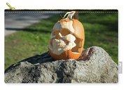 Pumpkin Skull Carry-all Pouch