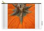 Pumpkin Stem Poster Carry-all Pouch