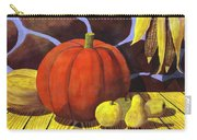 Pumpkin Still Life - Homage To Jon Gnagy Carry-all Pouch
