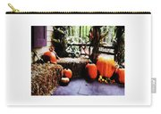 Pumpkins On Porch Carry-all Pouch
