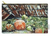 Pumpkins On Roof Carry-all Pouch