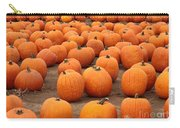 Pumpkins Waiting For Homes Carry-all Pouch