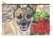 Pup In The Garden Carry-all Pouch