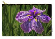 Puple Iris In Spring Carry-all Pouch