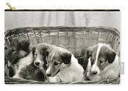 Puppies Of The Past Carry-all Pouch