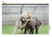 Puppies Playing Carry-all Pouch