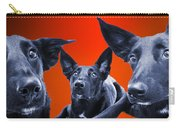 Puppy Dog Panoramic Montage Carry-all Pouch
