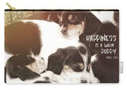Puppy Pile Quote Carry-all Pouch