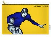 Purdue V Notre Dame 1947 Program Carry-all Pouch