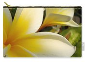 Pure Beauty Plumeria Flowers Carry-all Pouch
