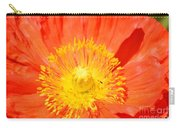 Pure Poppy Sunshine Carry-all Pouch