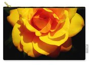 Pure Yellow Petals Carry-all Pouch