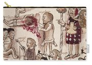 Purepecha People Carry-all Pouch