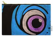 Purple And Blue Eyeball In Saint Augustine Florida Carry-all Pouch