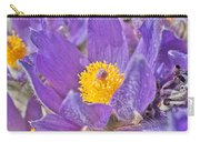 Purple And Gold - Bright Carry-all Pouch