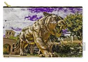 Purple And Gold Carry-all Pouch by Scott Pellegrin