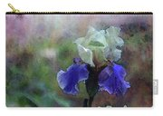 Purple And White Irises 6647 Dp_2 Carry-all Pouch