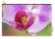 Purple And White Orchid 2 Carry-all Pouch