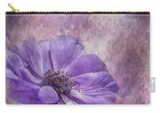 Purple Anemone Art Carry-all Pouch