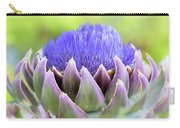 Purple Artichoke Flower  Carry-all Pouch