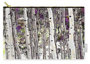 Purple Aspens Carry-all Pouch