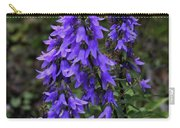 Purple Bell Flowers Carry-all Pouch