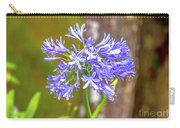 Purple Bells And Blossoms Carry-all Pouch