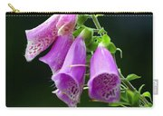 Purple Bells Horizontal Carry-all Pouch
